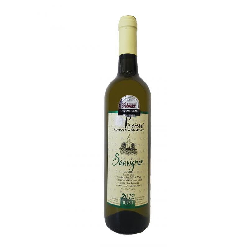 Sauvignon 2019, Pozdní sběr, suché